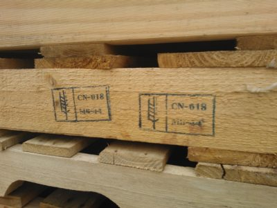 Heat Treated Pallets With IPPC Export Symbol In Melbourne